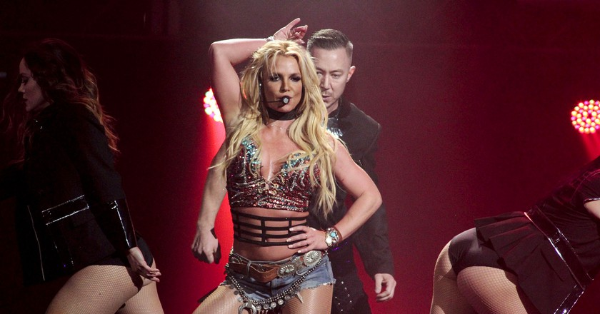 Britney Spears is playing in July   © ddp USA/REX/Shutterstock