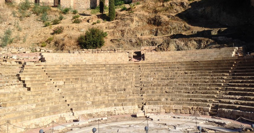 Malaga's Roman theatre   © Andrew Nash/Flickr