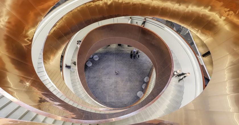 Helix Stairs | ©  Adam Mørk / Courtesy of Experimentarium