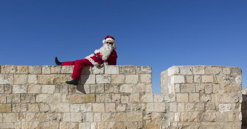 Santa in Jerusalem's Old City | © Dafna Tal for the Israeli Ministry of Tourism / Flickr