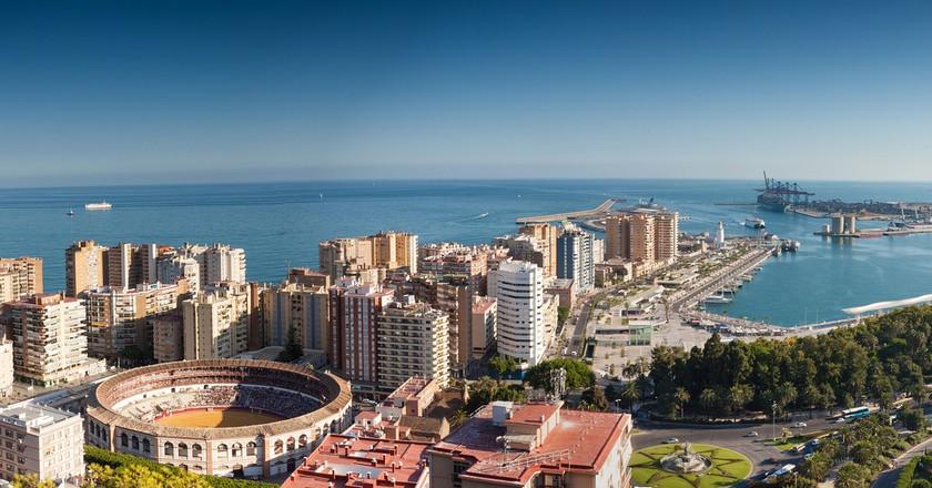 Málaga port | © Pexels/Pixabay