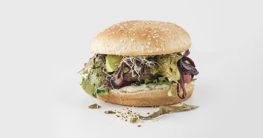 I Sea Bacon burger | ©  Seamore / Jan Wischnewski