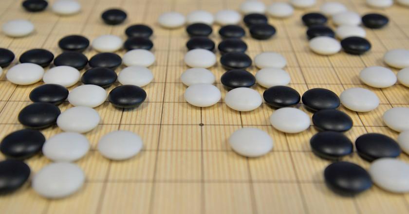 Go is a strategic board game   Oana Raluca/Shutterstock