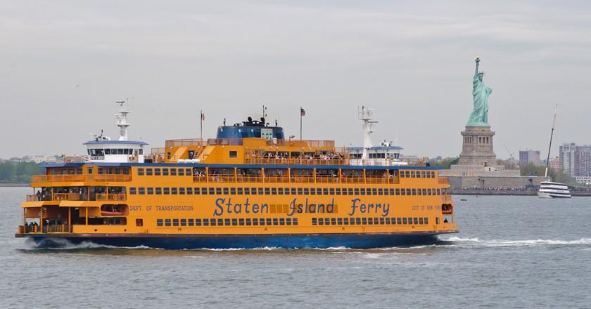 Staten Island Ferry   InSapphoWeTrust/WikiCommons