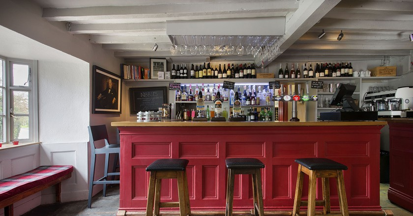 Bar Interior   Courtesy of The Churchill Arms