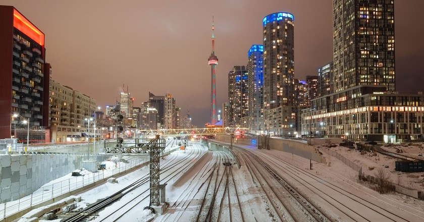 Toronto in the winter |© Nick Harris / Flickr
