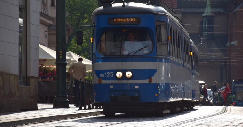 A tram in Krakow | © Joseph Richard Francis