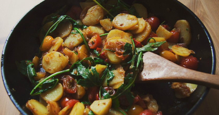 Vegetarian Cusine | ©  Roman Drits / Barn Images