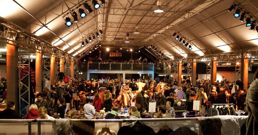 Munich flea market | Courtesy of Flohmarkt Nachtkonsum © Voetter