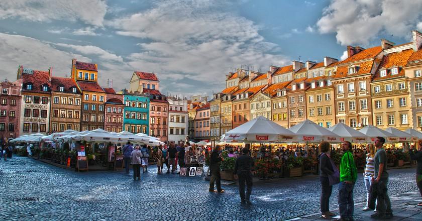 Warsaw Old Town   © Gabriela Fab/Flickr