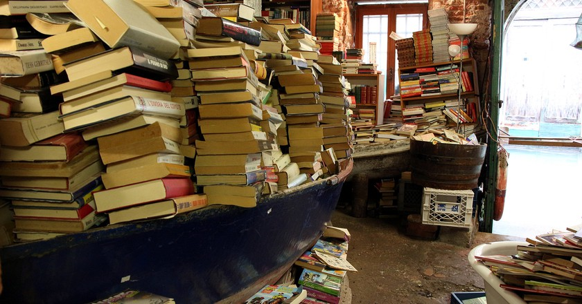 Acqua Alta bookstore | hinnosaar/Flickr