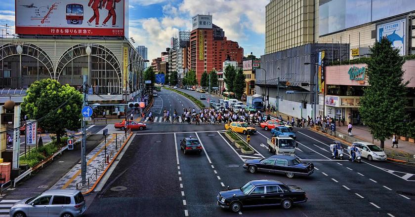 Outside Shinagawa Station | © chensiyuan/WikiCommons