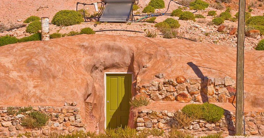 Underground house in Coober Pedy | © Flickr/Lodo27