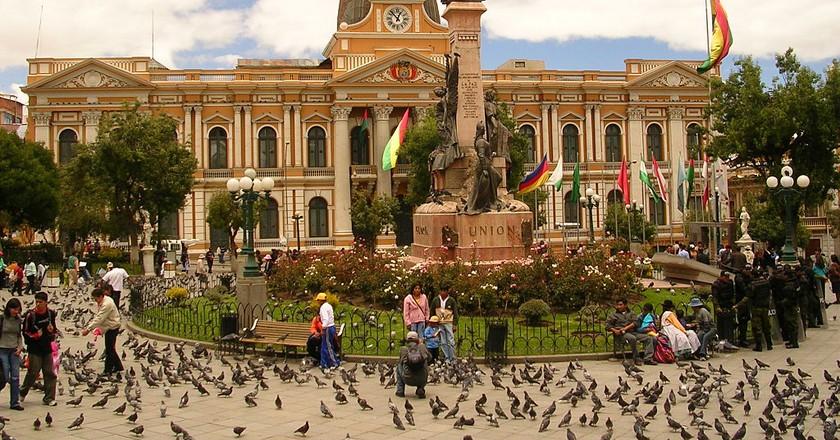 Plaza Murillo   © Elemaki / WikiCommons
