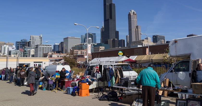 Maxwell Street Market   © Edsel Little / Flickr
