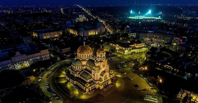 Alexander Nevsky Cathedral in Sofia   © Stanislav Traykov/WikiCommons