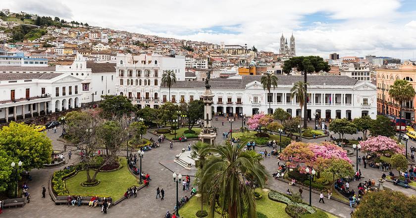 Plaza Grande, Quito, Ecuador   © Diego Delso/WikiCommons