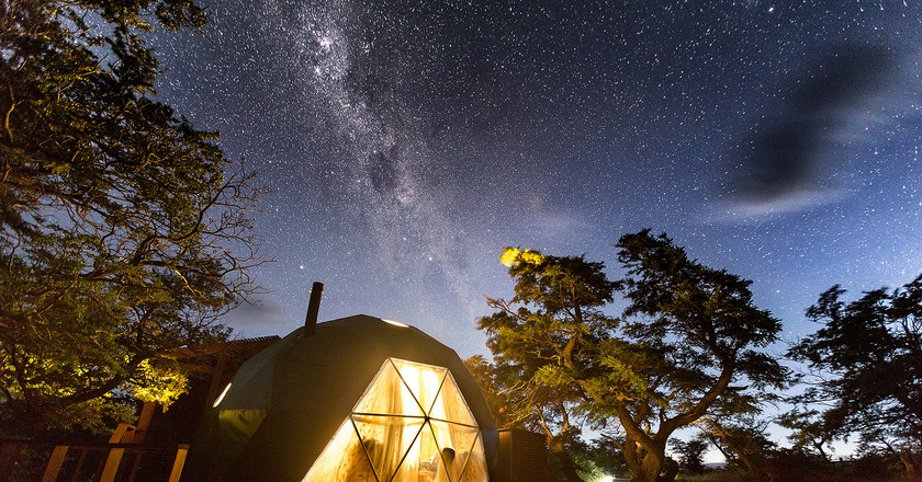 Sustainable Tourism   © Courtesy of EcoCamp Patagonia