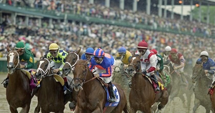 Running of the Kentucky Derby | © Flickr/Tauck