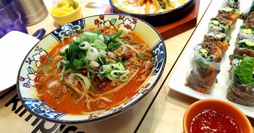 Dishes at Kimpira restaurant   Photo courtesy of Kimpira