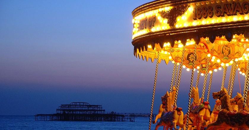 Brighton Seafront   © Dominic Alves/Flickr