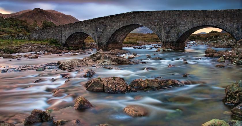 Sligachan Old Bridge   © Oliver Clarke / Flickr