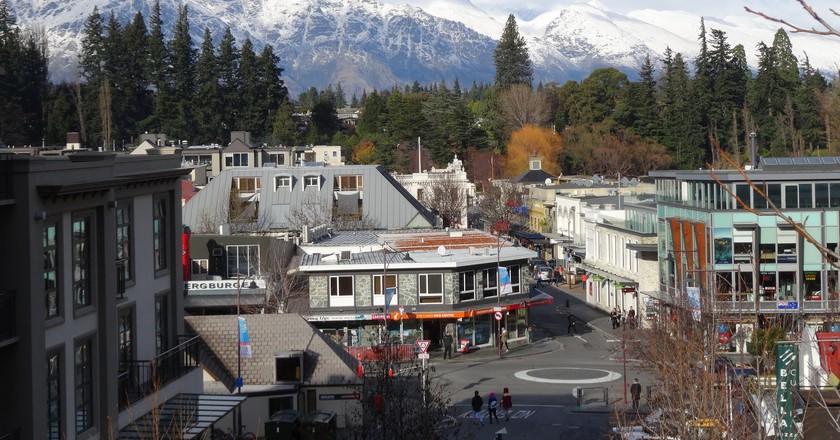 Downtown Queenstown, New Zealand | © amanderson2/Flickr