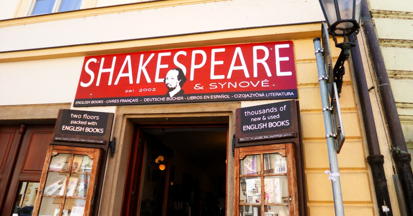 Shakespeare & Sons bookstore in Prague  ©Klaudyna / Flickr