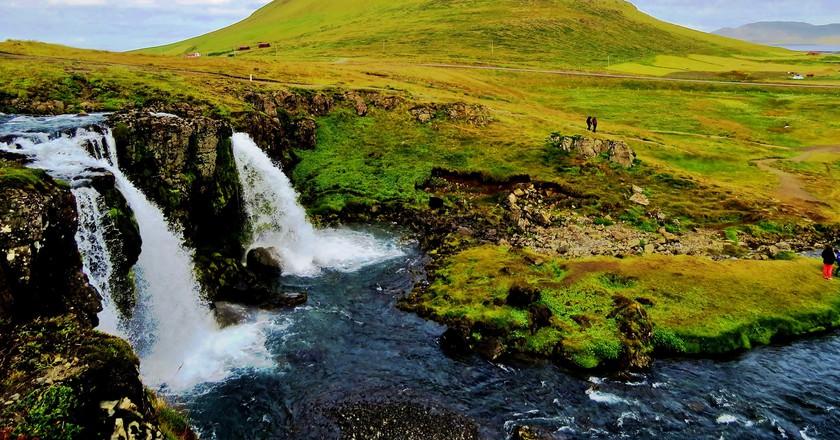 Kirkjufell, Iceland   © moonjazz/Flickr