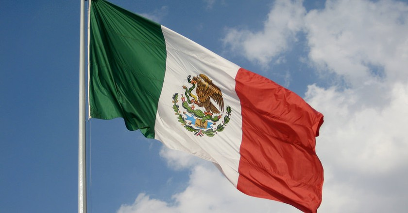 Flag of Mexico |  © Jorge Mendoza-Torres / Flickr