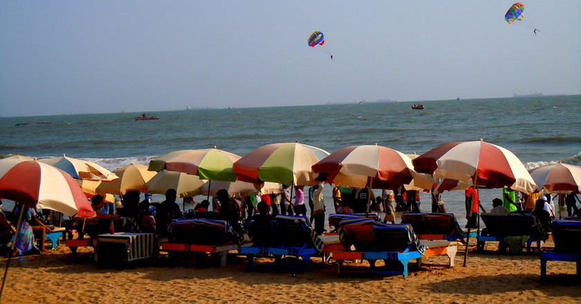 Baga Beach, Goa   © Abhishek Kumar / Flickr