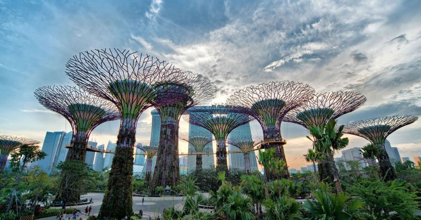 Gardens by the Bay, Singapore | © celebrityabc / Flickr