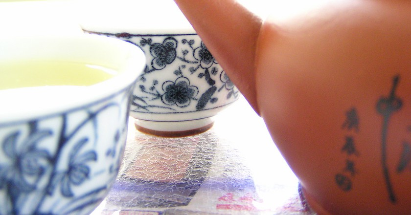 "<a href""https://www.flickr.com/photos/marufish/2699713377"">Chinese Tea 