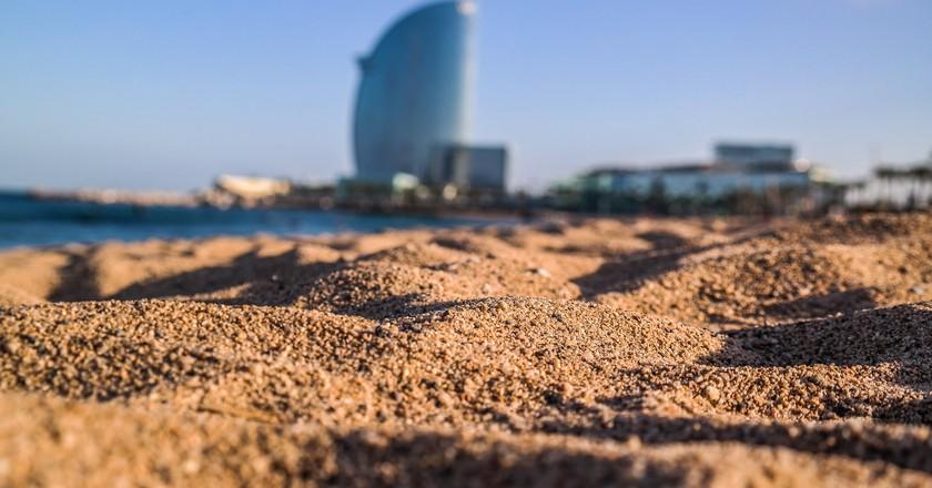 Barceloneta Beach   © Jean-Paul Navarro/Flickr