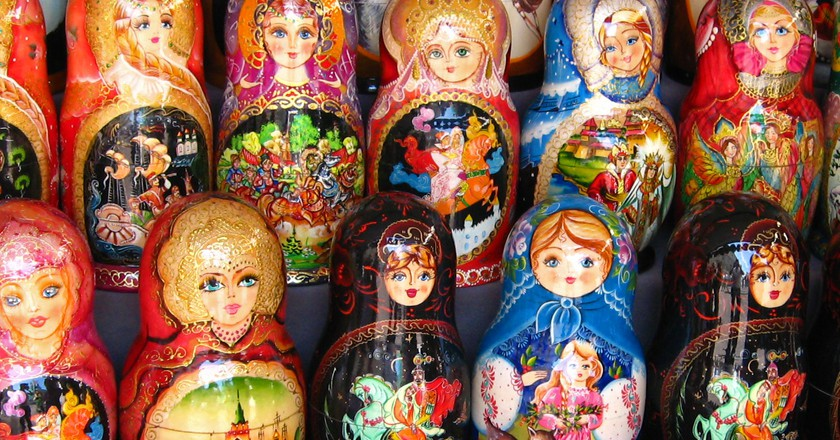 Matryoshka dolls, Moscow | © neiljs/Flickr