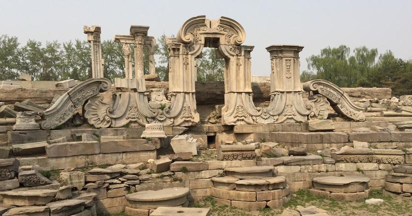 Ruins of the Old Summer Palace  | © David Baron/Flickr