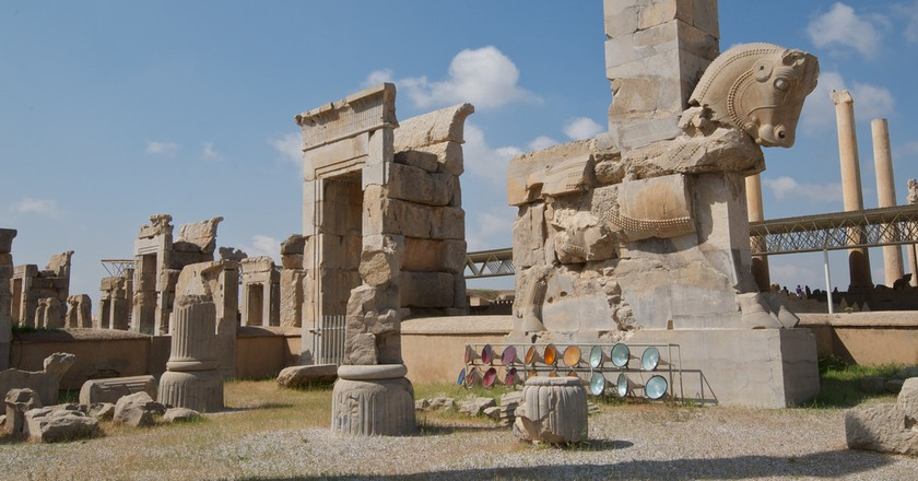 The ancient ruins of Persepolis | © Alan / Flickr
