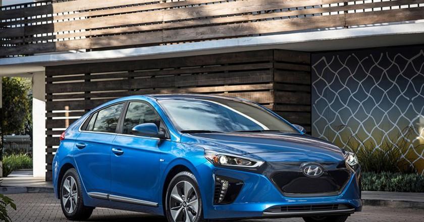 Hyundai's 2017 Ioniq Electric Vehicle (EV) is aiming to be an affordable autonomous vehicle | Courtesy of Hyundai