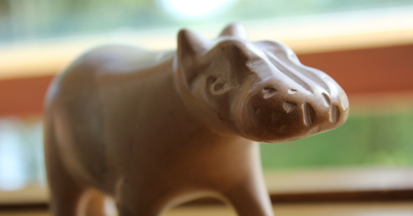 Soapstone hippo | © Nils Norman/Flickr
