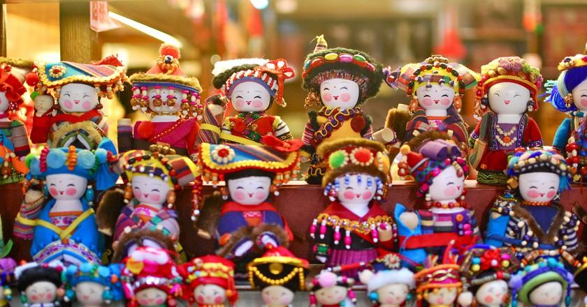 """<a href""""https://www.flickr.com/photos/kittykaht/6916833622"""">Souvenir dolls I © Kitty Khat/Flickr</a>"""