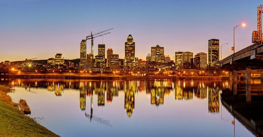 Montreal's skyline    © Jazmin Million/ Flickr