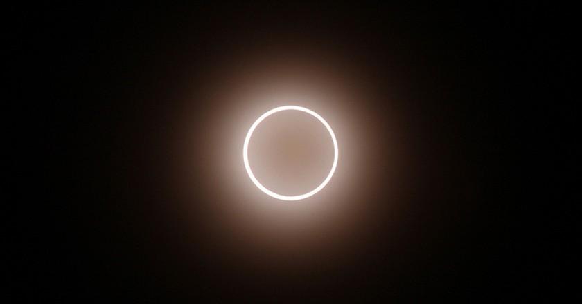 Solar Eclipse   © mrhayata/Flickr