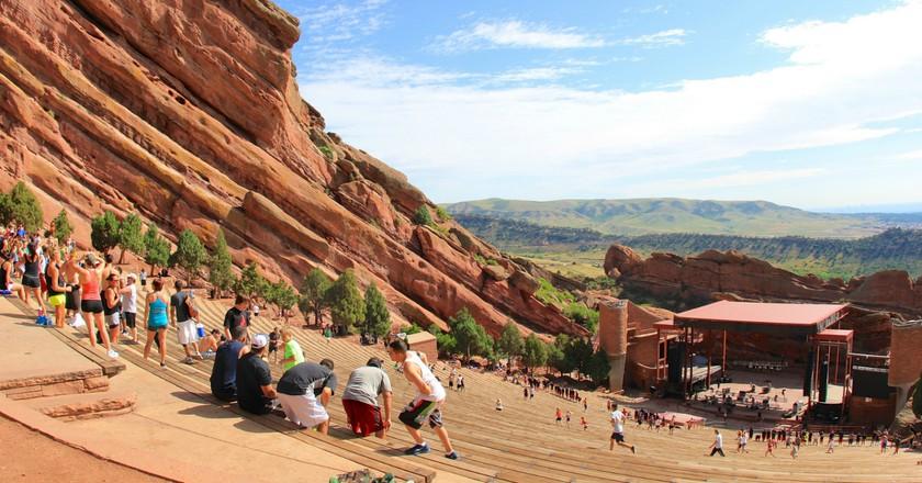Red Rocks Amphitheatre   © Flickr user daveynin