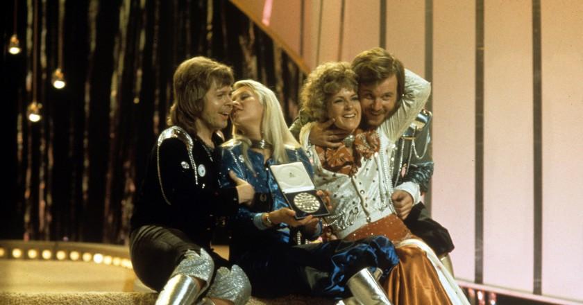 ABBA won the contest in 1974 | © Rex/Shutterstock