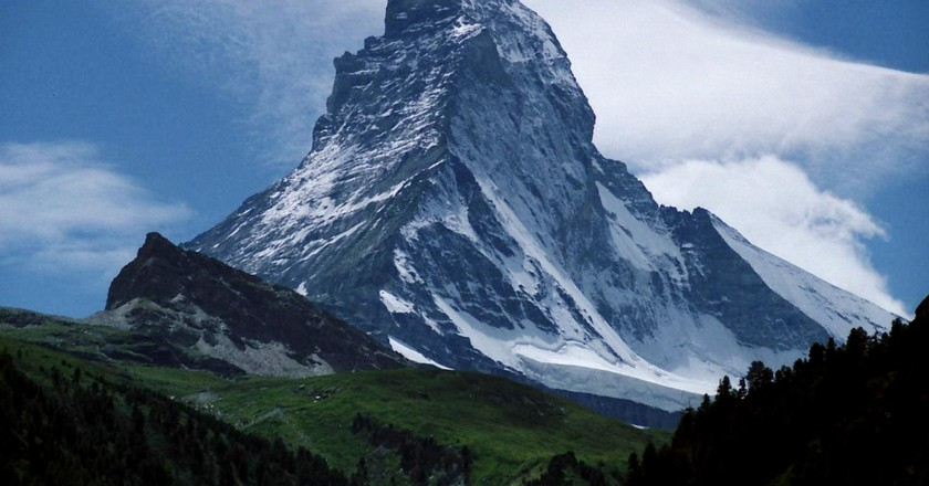 The Matterhorn, not quite a Swiss invention   © Alps /WikiCommons