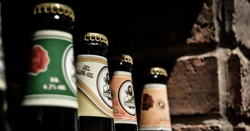 Craft beers I © jarmoluk/Pixabay