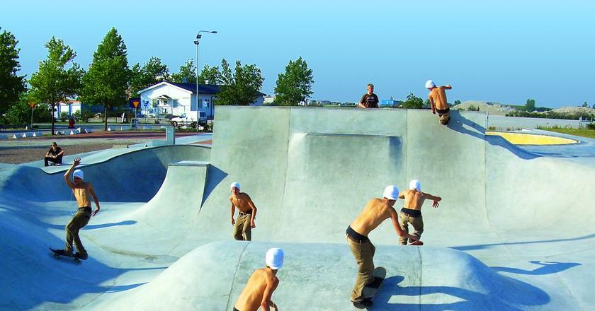 Malmö has a booming skateboard culture  © Björn Söderqvist / Flickr