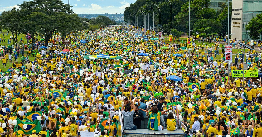 Protests against corruption |© Agência Brasil Fotografias / WikiCommons