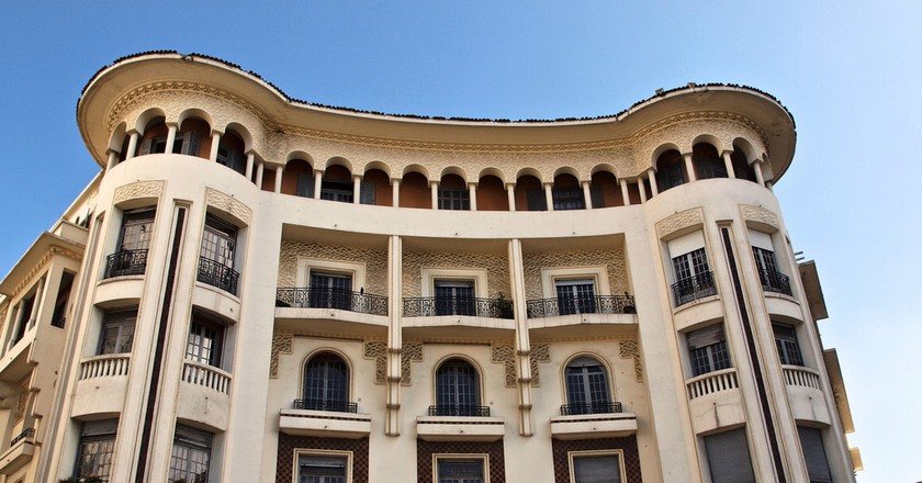 Art Deco architecture in Morocco's Casablanca   © Sandra Cohen-Rose and Colin Rose / Flickr
