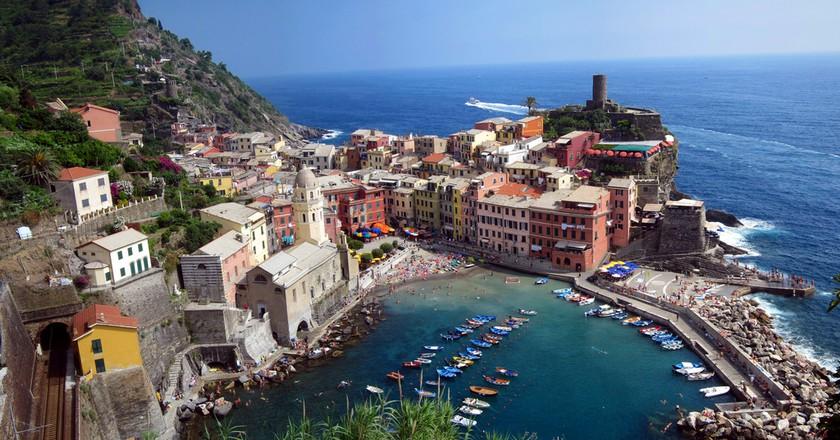 Cinque Terre - Overlooking Vernazza©StuartGeiger:Flickr